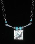 Turquoise Mosaic Swing