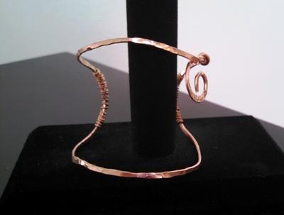 Fun copper cuff.